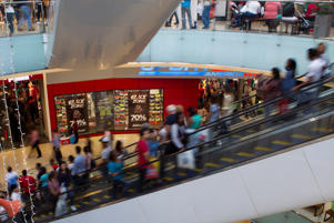 Image of shopping mall.