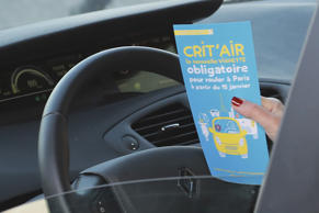 All Parisian motorists need to display a 'Crit'Air' windscreen sticker