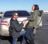 Cops help man with proposal