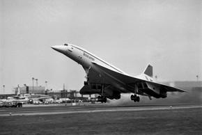 First Commercial service of Concorde begins with the London-Bahrain and Paris-Ri...