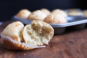 Brown Butter Coconut Almond Muffins