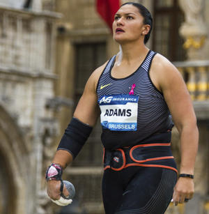 Valerie Adams of New Zealand