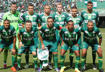 Chapecoense players pose for a photo before the charity match between Chapecoense and Palmeiras for the Chapecoense air crash victims