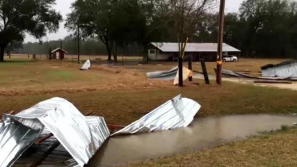 Eleven people were killed and more than 20 injured as violent storms rolled through parts of Georgia, authorities said Sunday.