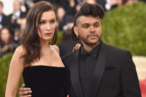 Bella Hadid split with The Weeknd in November last year. The two had been together for 18 months.