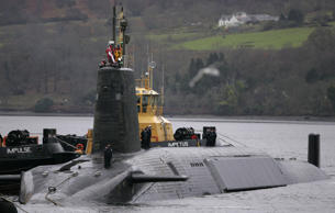 The failed test is reported to have happend on board HMS Vengeance