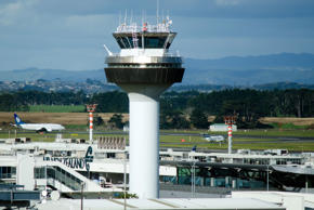 A rise in Auckland International Airport and defensive stocks like Kiwi Property...