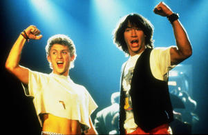 Bill and Ted's Excellent Adventure - 1989 Alex Winter, Keanu Reeves