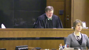 This still image taken from United States Courts shows Judge James Robart listening to a case at Seattle Courthouse on March 12, 2013 in Seattle. Robart placed a nationwide hold on President Donald Trump's executive order, banning travel to the United States by migrants from seven Muslim-majority countries, Friday, Feb. 3, 2017.