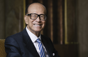 Billionaire Li Ka-shing, chairman of CK Hutchison Holdings Ltd. and Cheung Kong ...