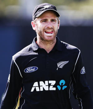 Kane Williamson of New Zealand