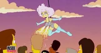 'The Simpsons' Predicted Lady Gaga's Super Bowl Performance 5-Years-Ago