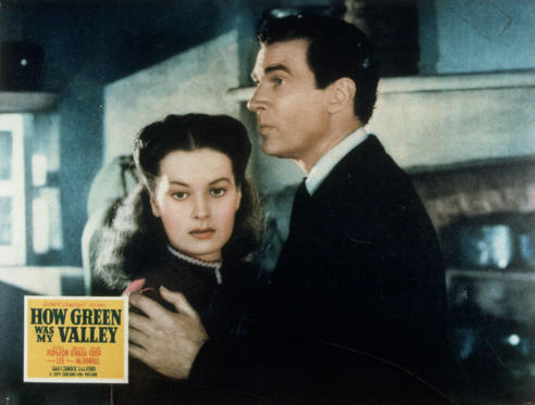 Slide 1 of 26: VARIOUS FILM STILLS OF 'HOW GREEN WAS MY VALLEY' WITH AWARDS - OSCARS, 1941, AWARDS - ACADEMY, BEST PICTURE, MAUREEN O'HARA, WALTER PIDGEON, POSTER ART, OSCAR RETRO, OSCAR (MOVIE) IN 1941