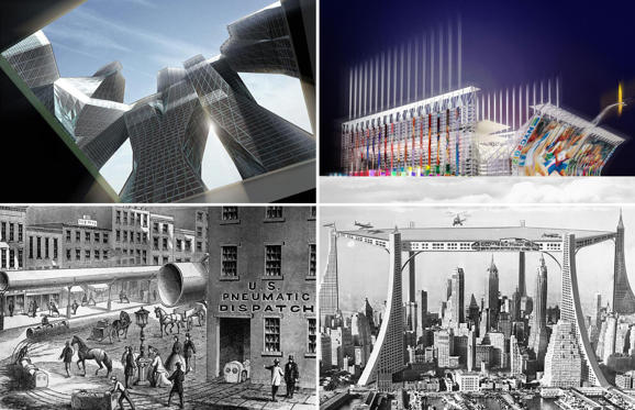 Slide 1 of 16: Unbuilt New York