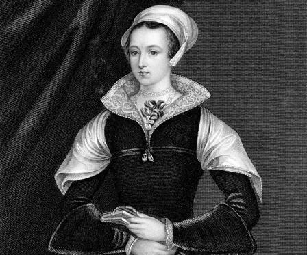 Slide 1 of 12: Lady Jane Grey, (1537-1554), Queen of England for only nine days in 1553, was imprisoned and beheaded on Tower Green for sanctioned reasons.