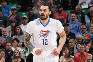 New Zealand centre Steven Adams.