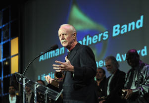 Butch Trucks of the Allman Brothers Band accepts Lifetime Achievement award during The 54th Annual GRAMMY Awards - Special Merit Awards Ceremony And Nominee Reception on February 11, 2012 in Los Angeles