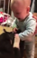 Baby reacts to seeing puppy