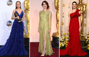 Every year sees its own color trends at the Oscars. Here we look at the colors of the rainbow, as seen on the red carpet.