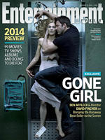 David Fincher photographs Ben Affleck cuddling a dead Rosamund Pike for 'Gone Girl' cover