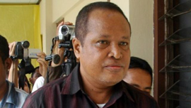 Abraham Louhenapessy, also known as Captain Bram, pictured in Serang on March 17, 2010.