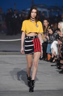 VENICE, CA - FEBRUARY 08:  Model Bella Hadid walks the runway at the TommyLand Tommy Hilfiger Spring 2017 Fashion Show on February 8, 2017 in Venice, California.  (Photo by Frazer Harrison/Getty Images for Tommy Hilfiger)