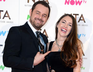 Danny Dyer with Lacey Turner