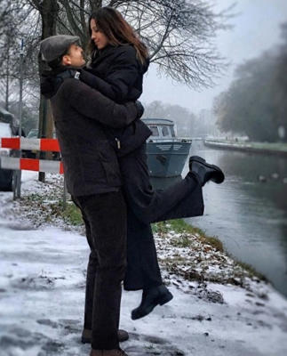 A romantic moment in Maarssen in the Netherlands (Photo: Instagram/echosierra85)