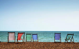 Brighton's beaches each have their own flavour, but they're all pebbly CREDIT: AP/FOTOLIA