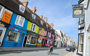 Kemp Town is one of Brighton's most colourful neighbourhoods CREDIT: ALAMY