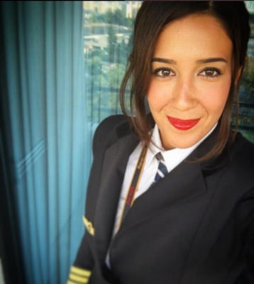Eser is one of just a few thousand female pilots in a male-dominated industry (Photo: Instagram/echosierra85)