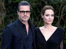 File photo dated 08/05/14 of Brad Pitt and Angelina Jolie.