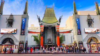 <p>The opulent and iconic Chinese Theatre in Hollywood hosts numerous movie prem...