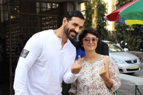 John Abraham and Kiran Rao