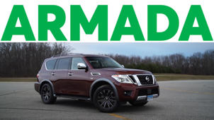 2017 Nissan Armada Road Test