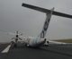 A plane flying from Edinburgh has been evacuated after crash-landing at a Dutch airport.