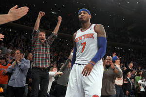 Carmelo Anthony, esta temporada.