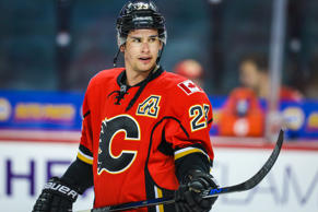 Calgary Flames center Sean Monahan
