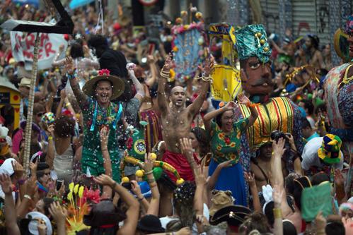 Confira as imagens do Carnaval 2017