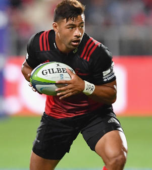 Richie Mounga of the Crusaders