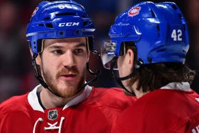 Andrew Shaw of the Montreal Canadiens