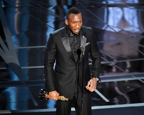 Slide 3 of 33: HOLLYWOOD, CA - FEBRUARY 26: Actor Mahershala Ali accepts Best Supporting Actor for 'Moonlight' onstage during the 89th Annual Academy Awards at Hollywood & Highland Center on February 26, 2017 in Hollywood, California. (Photo by Kevin Winter/Getty Images)