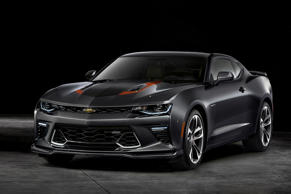 Chevrolet is celebrating the 50th anniversary of the Camaro with the launch of a special edition. Available in both Coupe and Convertible 2LT and 2SS models – features include Nightfall Grey metallic paint (convertible models include a black top), 20-inch 50th Anniversary wheels, special stripes and badges, a body-coloured front splitter, orange brake callipers, suede inserts and orange accent stitching on the leather seats and a unique instrument panel.