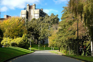 The University of Canterbury campus is booming once again