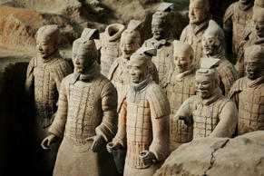 CHINA - NOVEMBER 29:  Emperor Qin Shi Huang'S Terra Cotta Soldiers In Xian, Chin...