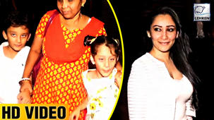 Sanjay Dutt's Wife Manyata Dutt's Full Birthday Celebration With Her Kids And Family
