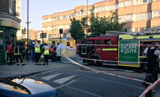 Two teenagers in Tower Hamlets in east London have been attacked with a suspecte...