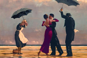 A new survey has revealed Britain's ten favourite pieces of art, including The Singing Butler by Jack Vettriano