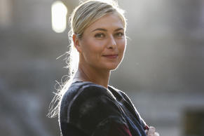 Five-time Grand Slam champion Maria Sharapova.