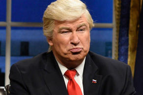 Alec Baldwin as Donald Trump on SNL.